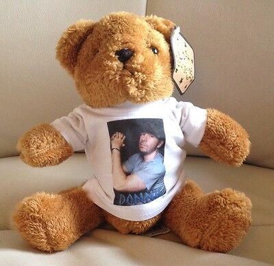 DONNIE WAHLBERG 8 inch VERY CUDDLY TEDDY BEAR New Kids on the Block