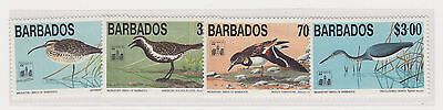 Barbados uccelli stamps