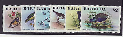 Barbuda uccelli stamps