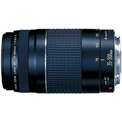 Canon EF 75-300mm f/4-5.6 III Telephoto Zoom Lens f/ SLR Cameras + USA WARRANTY