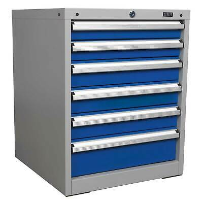 Sealey Industrial Garage Tool Storage/Storing Cabinet System- 6 Drawer - API5656