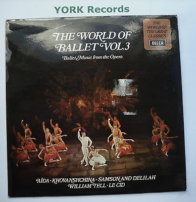 SPA 203 - THE WORLD OF BALLET Volume 3 - Excellent Condition LP Record