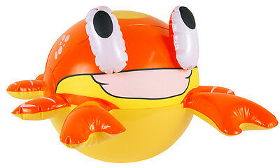 Crab Inflatable Party Accessory Decoration size approx 22cm