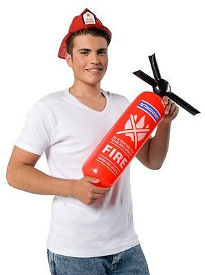 Fire Extinguisher Inflatable Novelty Party Accessory Fancy Dress