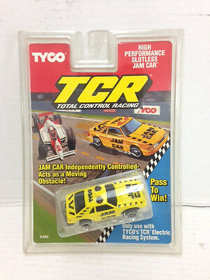 """15 1991 TYCO TCR Total Control Racing Slotless Slot Car TRACK 15/"""" STRAIGHTS 5900"""