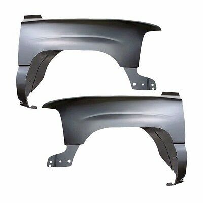 New Front Quarter Panels Fenders Set of 2 (LH & RH Side) For Chevy Suburban Pair