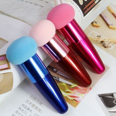 Women Multi-color Cosmetic Makeup Brushes Liquid Cream Foundation Sponge Brush