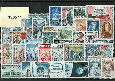 France Annee Complete 1965 ** Neuf