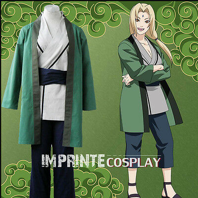Naruto Tsunade Cosplay Costume Full Set FREE P&P
