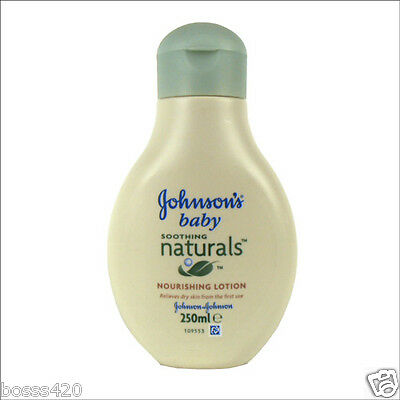 Johnson's Baby Soothing Naturals Nourishing Lotion 250Ml