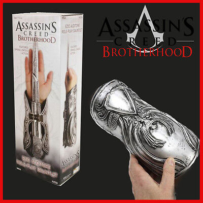 ★ Assassin's Creed LAMA CELATA cosplay EZIO AUDITORE gauntlet Brotherhood