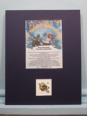 Jim Henson's The Muppet Movie & the Kermit the Frog stamp