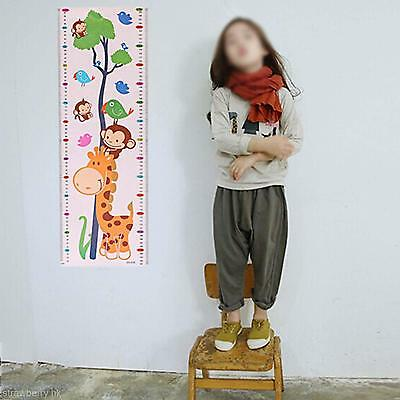 New Design Growth Height Measure Chart 1.7M Home Room Wall Sticker Decal Decor