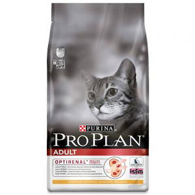 Cat Food Purina Pro Plan Adult Cat Optirenal - Rich in Chicken 10kg