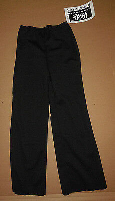 NWT MATTE SPANDEX DANCE JAZZ PANTS CHILD/ADULT BOOTCUT Black 79207