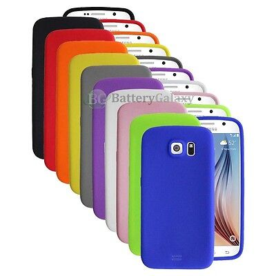 Lot of 10 Silicone Soft Slim Rubber Gel Case Cover for Samsung Galaxy GS6 S6