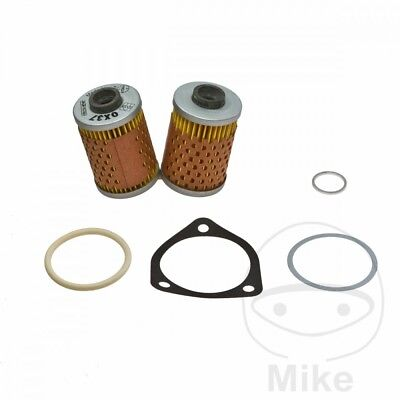 For BMW R 45 N 1978 Mahle Oil Filter (Without Oil Cooler)