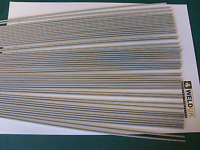 50 x 1.6mm x 250mm long Arc Welding Rods Electrodes 6013 Mild Steel E10