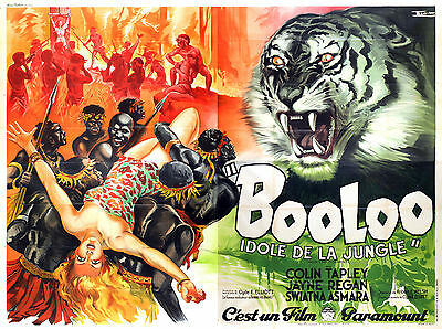 Booloo - Original French Poster - Very Rare