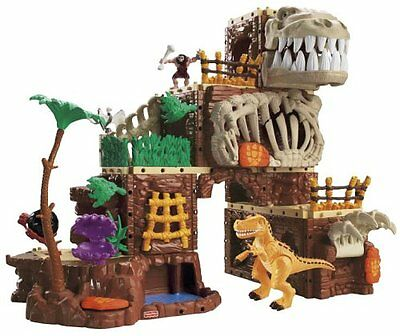 Fisher Price Imaginext T-Rex Mountain New MISB