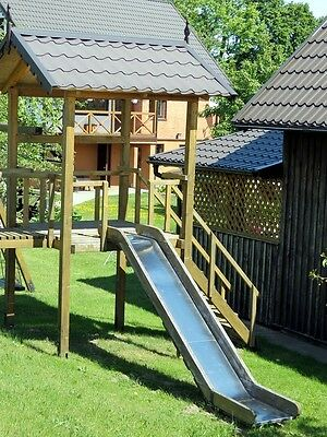 Build your own child play structure (DIY Plans) Fun to build Cubby!