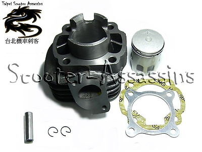 50cc CYLINDER KIT for MALAGUTI F10 Wap 50 2 Stroke (air Cooled) 2004> on