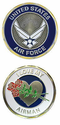 U.S. Air Force / I Love My Airman - USAF Challenge Coin 2511