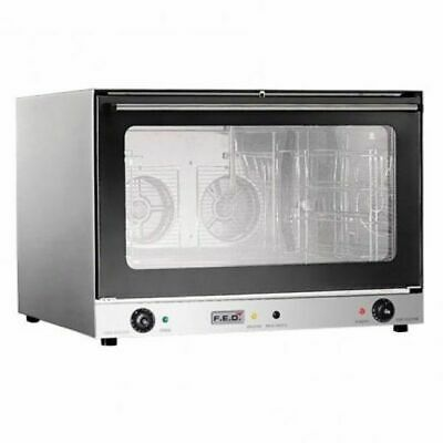 Convection Oven fits 4 Trays 600 x 400mm ConvectMax Commercial Kitchen Equipment