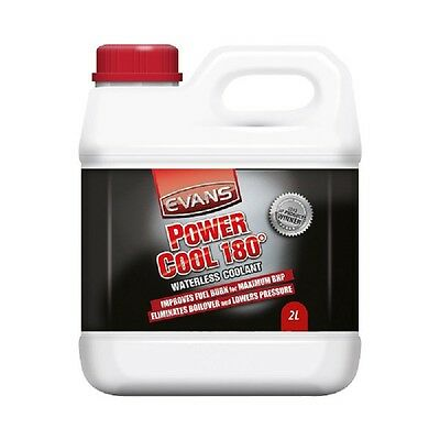 Power Cool 180 Waterless Engine Coolant Antifreeze 2 Litre Red Clear - Evans