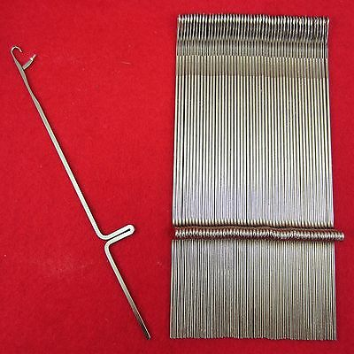 New 50 Needles for Knitting Machine Brother KR260 Knitting Machine Needles