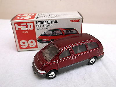 TOMICA no 99 1/64 Toyota Estima  -  red