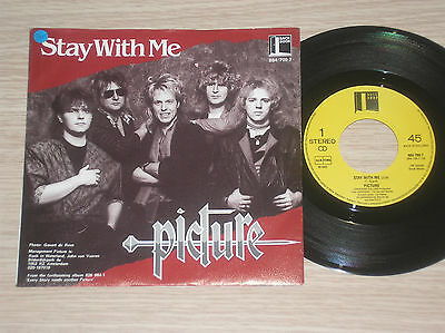 """Picture - Stay With Me - 45 Giri 7"""" Holland"""
