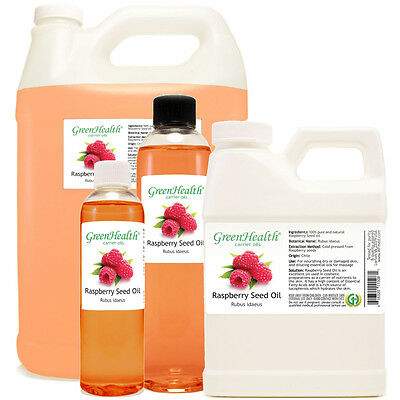 Raspberry Seed Carrier Oil (100% Pure & Natural) FREE SHIPPING