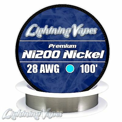 Annealed Ni200 Nickel 28 Gauge AWG 100' NON RESISTANCE Wire