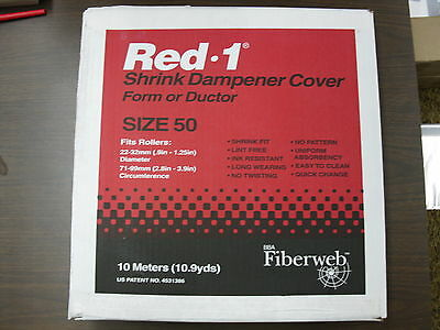 Veratec BBA Red-1 Size 50 Shrink Cover 569238