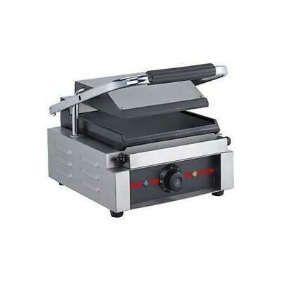 ElectMax Contact Grill Single Commercial Kitchen Equipment Griddle / Grills