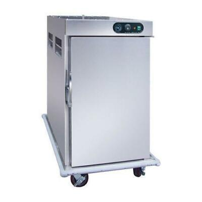 Heated Food Cart / Banquet Cabinet, Stainless Steel, 790x975x1350mm, Commercial