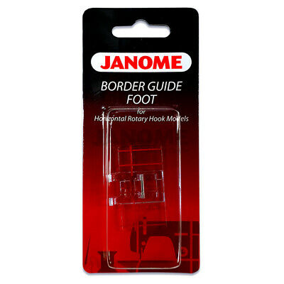 Janome Border Guide Foot for Decorative Sewing - Quilting Patchwork Clip On 7mm
