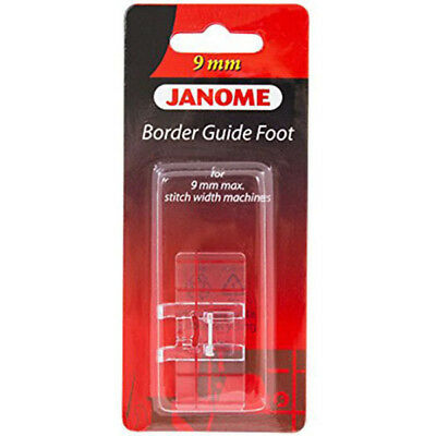Janome Border Guide Foot for Decorative Sewing - Quilting MC 12000 8200 8900 9mm
