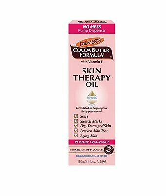 NEW Palmers Cocoa Butter Formula Skin Therapy Oil (Rosehip Fragrance) 60ml