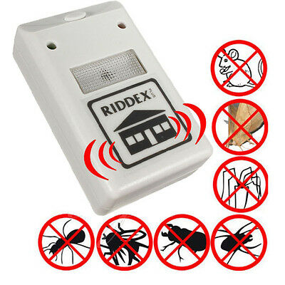 EU plug 220V Electronic Riddex Plus Pest Rodent JMHG Control Applied Repeller