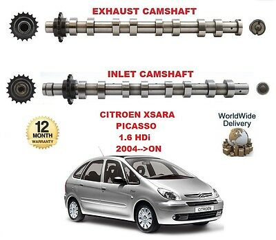 FOR CITROEN XSARA PICASSO 1.6 HDi 2004-->ON NEW INLET & EXHAUST ENGINE CAMSHAFT