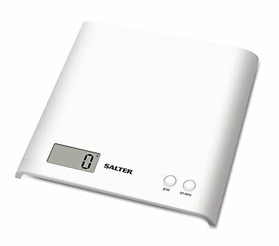 Salter Arc Electronic Digital Kitchen Scales - White-1066 WHDR08 - Brand New