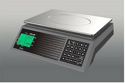 Retail Shop Scale PS1XC New 6kg Trade Approved / Legal For Trade Class III
