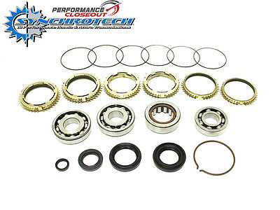 Synchrotech Transmission Carbon Rebuild Kit 06-11 Honda Civic Si K20z3 Trannies