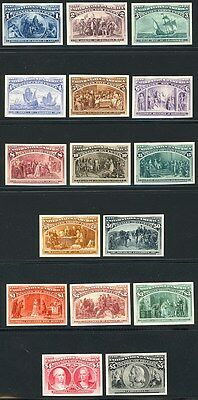 230-45P4  Columbian Card Proof Set - Just Gorgeous !