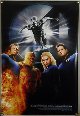 Fantastic Four: Rise Of The Silver Surfer Ds Rolled Orig 1Sh Movie Poster (2007)