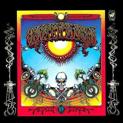 """2.5"""" Grateful Dead AOXOMOXOA Vintage style Album Cover STICKER. For bong or pipe"""