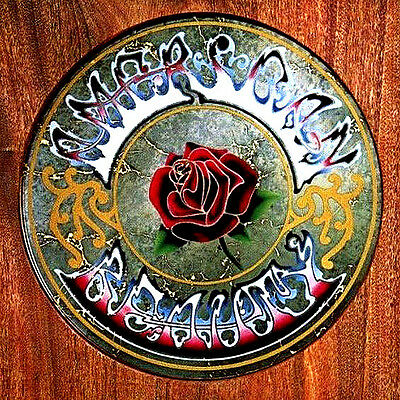 """2.5"""" Grateful Dead AMERICAN BEAUTY Vintage style Album Cover STICKER. Bong, pipe"""