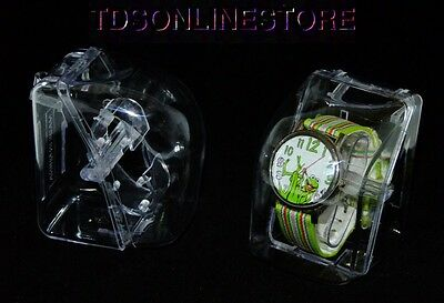 Watch Or Bracelet Acrylic Gift Boxes With Hanging Tab Package Of 6